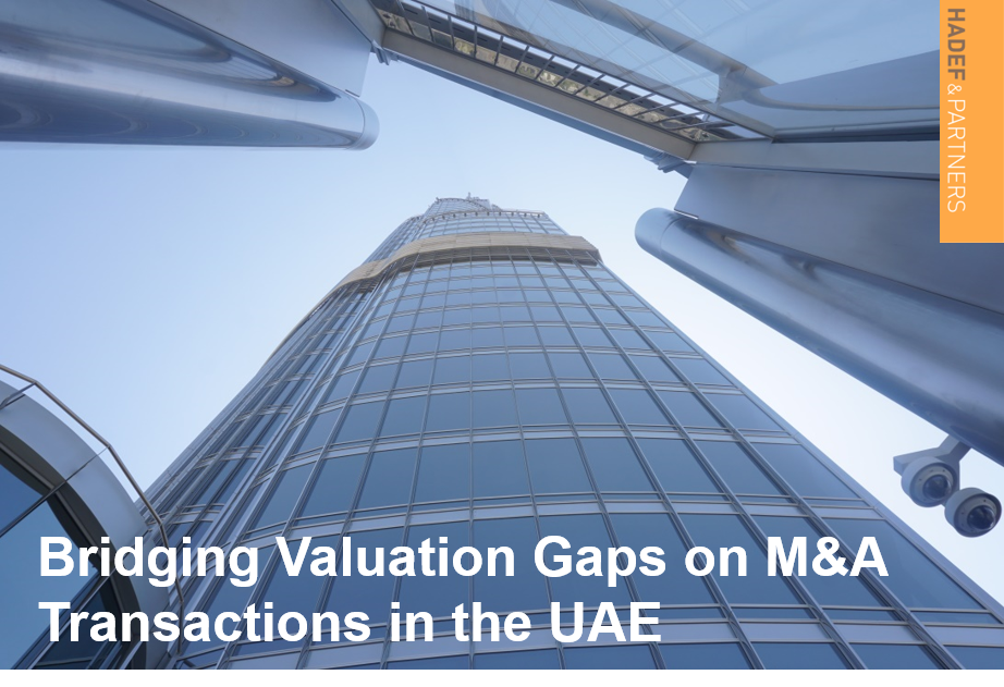 Bridging Valuation Gaps on M&A Transactions in the UAE