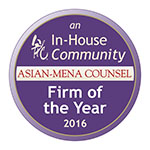 Corporate and M&A Firm of the Year 2016
