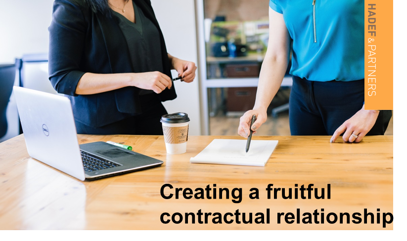 Creating a Fruitful Contractual Relationship