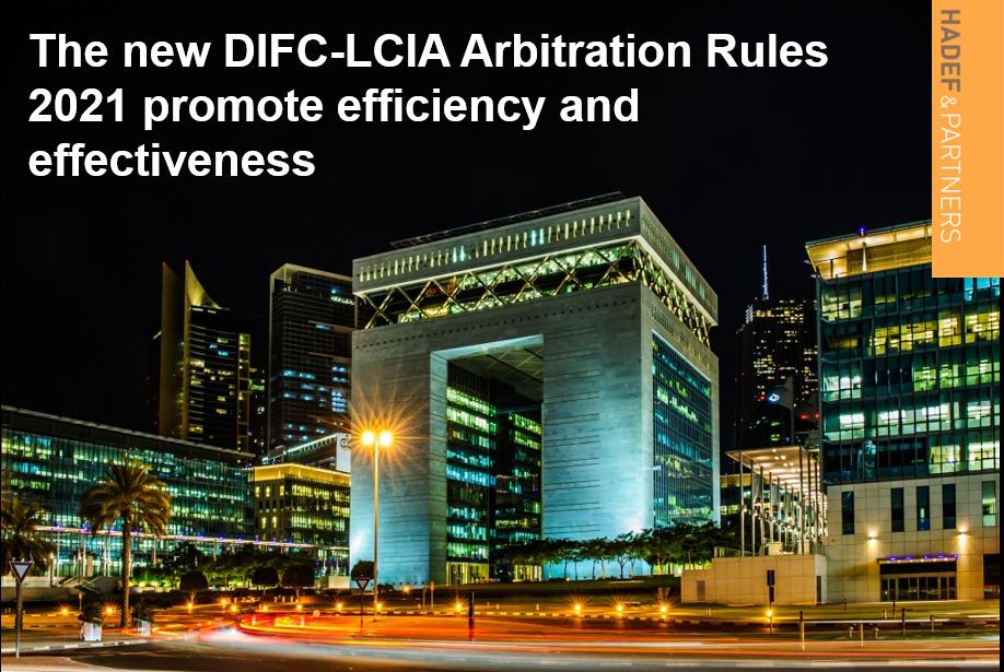 DIFC-LCIA Arbitration Rules 202