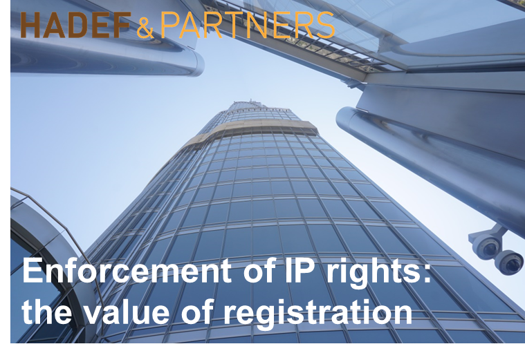 Enforcement of IP rights: the value of registration