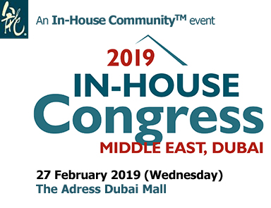 Hadef & Partners Sponsors 13th In–House Congress 2019