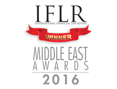 Hadef & Partners Wins IFLR UAE Deal of the Year 2016