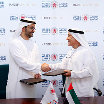 Hadef & Partners becomes Official Legal Supporter of the Special Olympics World Games Abu Dhabi 2019