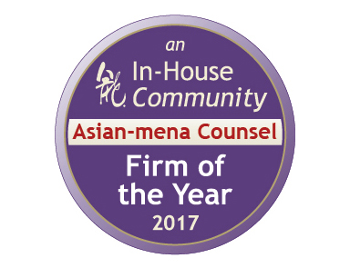 Hadef & Partners named Asian-MENA Counsel & In-House Community: Firm of the Year 2017 in 15 different categories