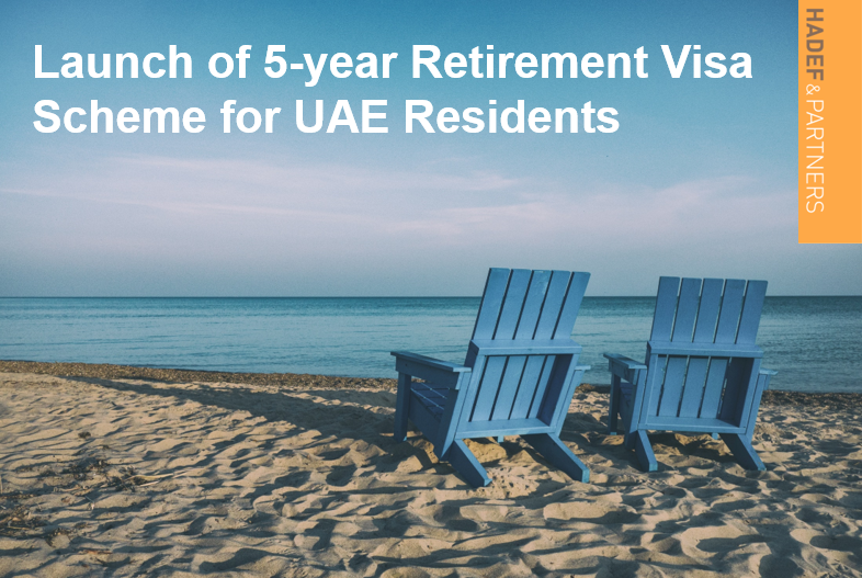 Launch of 5-year retirement visa scheme for UAE residents