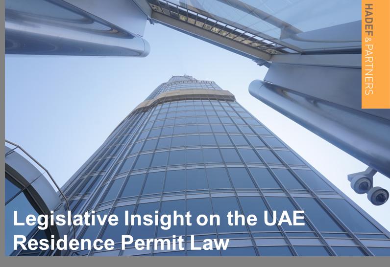 Legislative Insight on the UAE Residence Permit Law