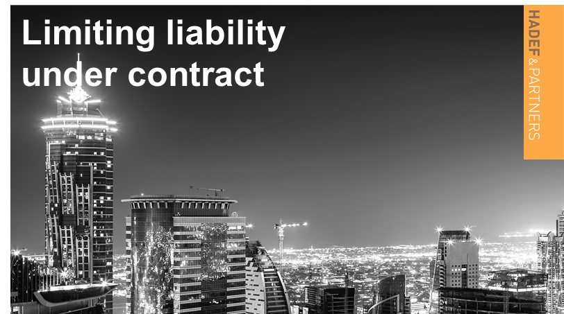 Limiting liability under contract
