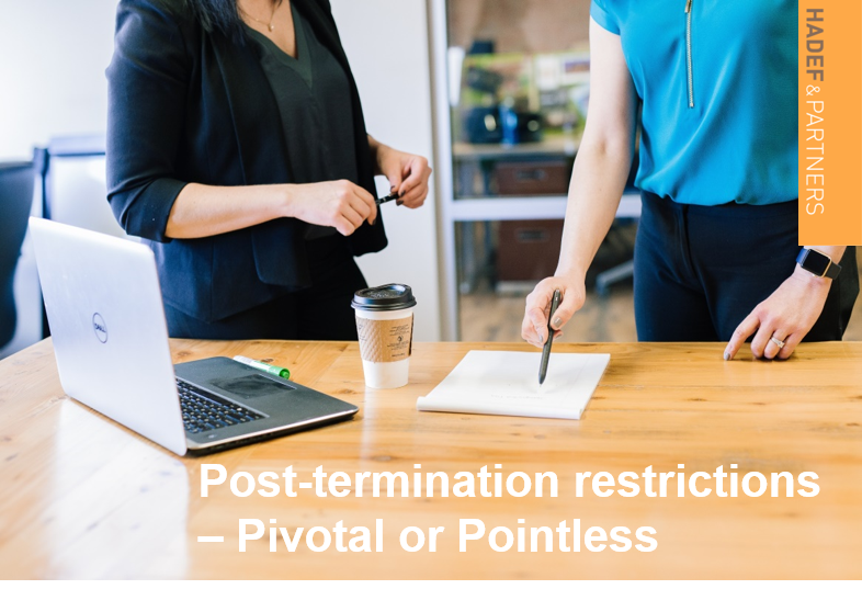 Post-termination restrictions: pivotal or pointless