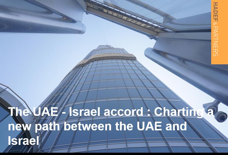 The UAE - Israel accord: Charting a new path
