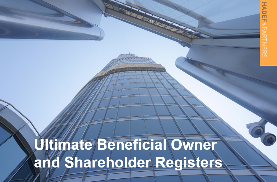 Ultimate Beneficial Owner and Shareholder Registers
