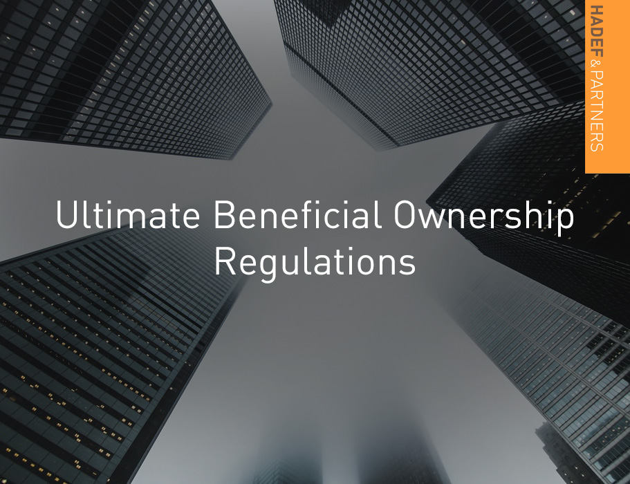 Ultimate Beneficial Ownership Regulations